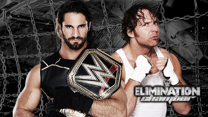 Wwe Elimination Chamber 2015 Wwe Championship Wwe Triple Threat Wwe Wrestlers