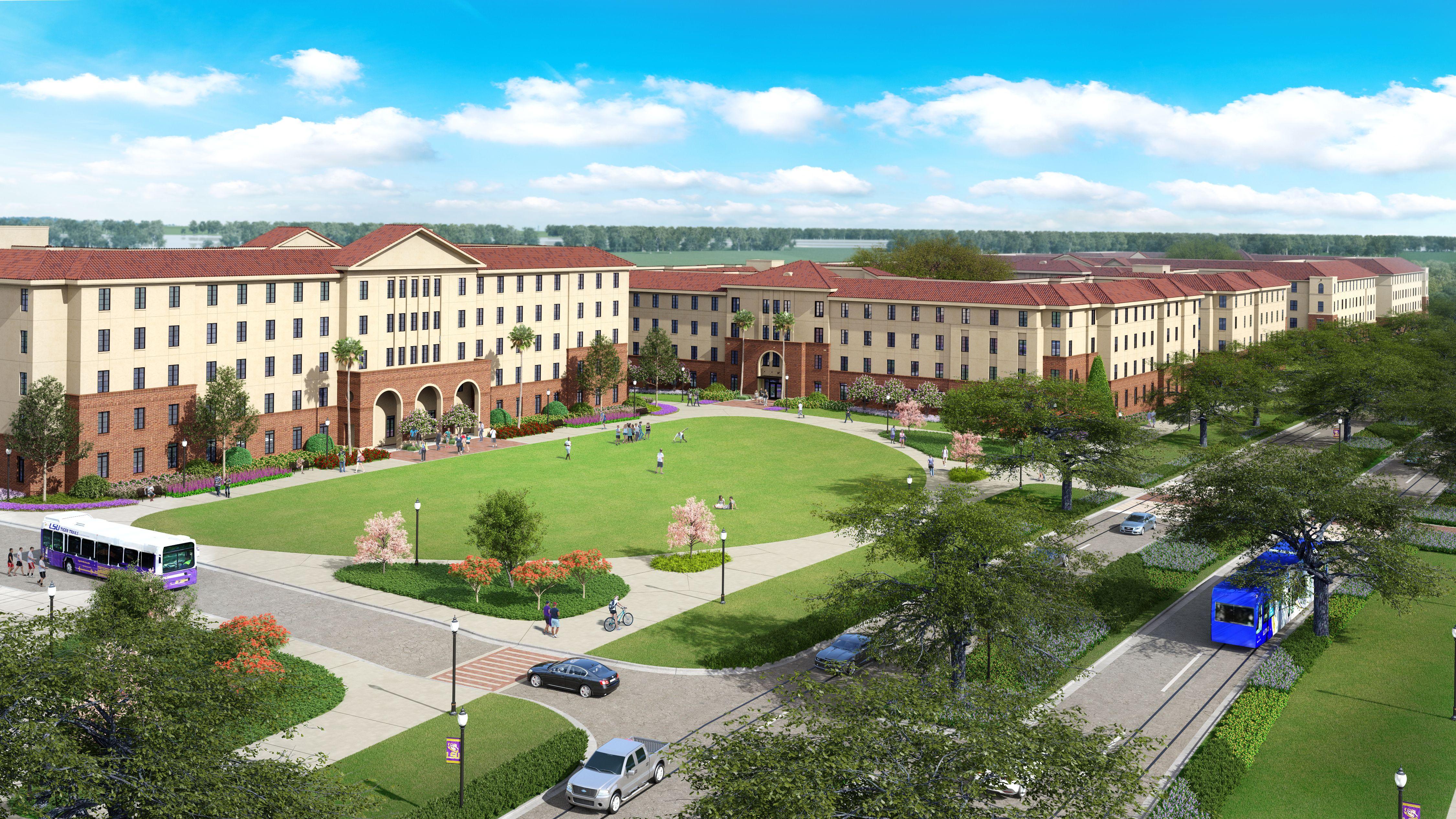 Lsu Nicholson Gateway Apartments Lsu College Lsu Student Lsu