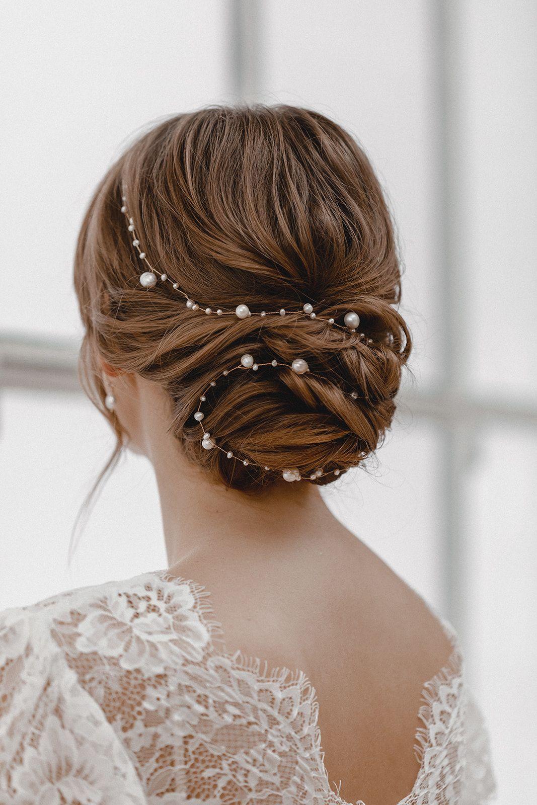 39++ Hochzeitsfrisur perlen inspiration