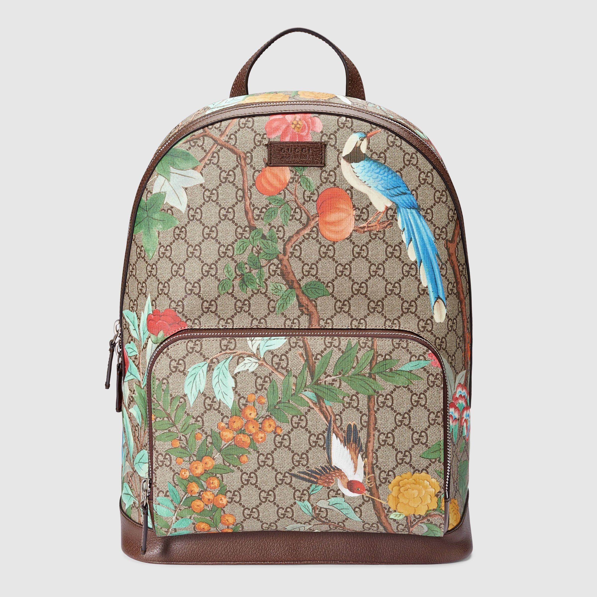 16bacb65048 Gucci Men - Gucci Tian GG Supreme backpack - 428027K0LCN8685 ...