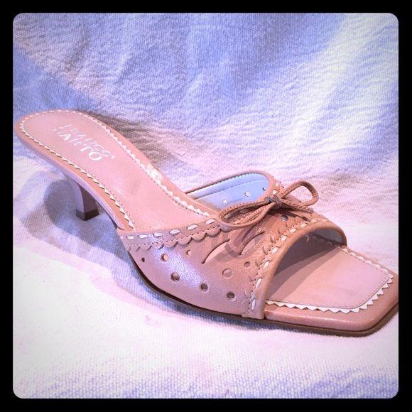 51c3cc008e5 Franco Sarto Blush Kitten Heel Slides