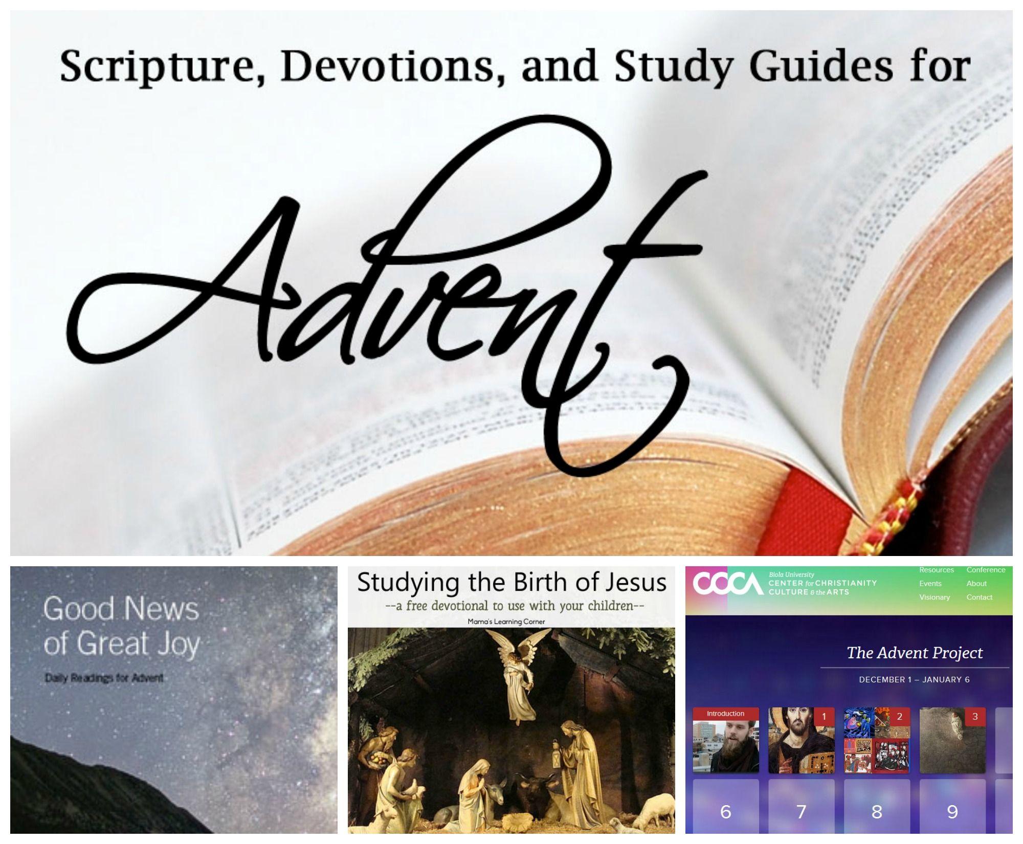 Free Advent Devotional Guides Advent devotionals