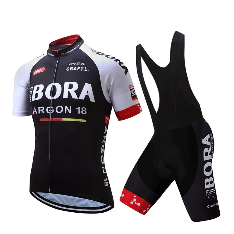 7f1f481ce 2017 team bora cycling jersey bike shorts setblack mens summer quick dry  pro cycle clothing BICYCLING