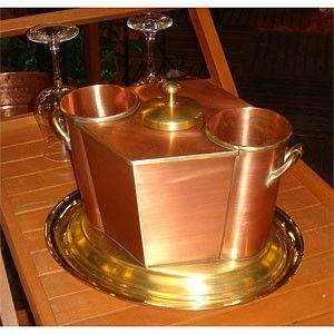 copper+interior+decoration | ... Arts Copper Double Wine Holder | Shop home, interior_design| Kaboodle
