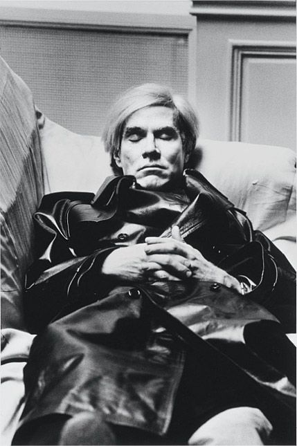 Helmut Newton: Andy Warhol, Paris, 1974 - @Mary Powers Wallis Palais (24 mars-17 juin 2012)