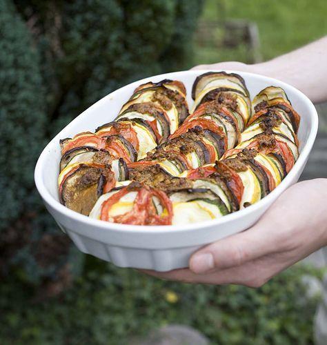 Tian Provencal De Legumes Courgettes Aubergine Tomates Recette Recettes De Cuisine Legumes Courgettes Cuisine