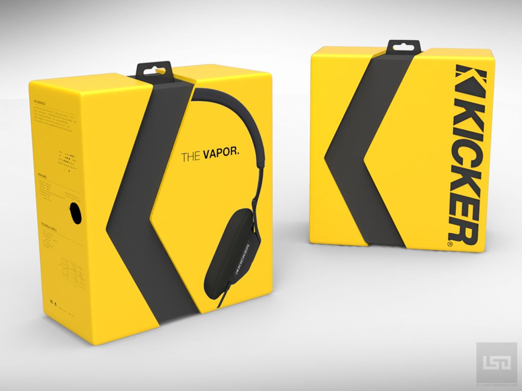 Headphone packaging design