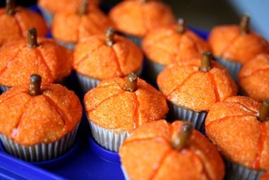 Cupcakes for Halloween <3