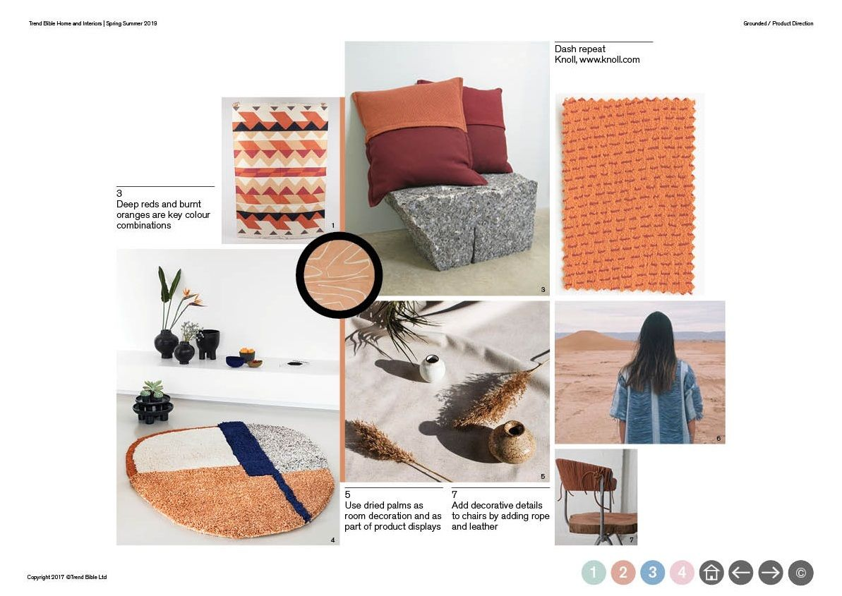 Trend Bible Home And Interior Trends S S 2019 Forecasts Color 2018