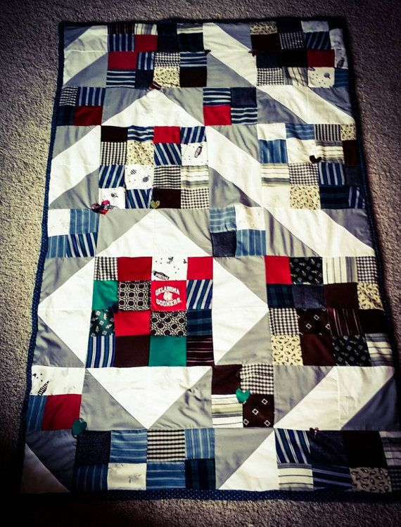 Check out this item in my Etsy shop https://www.etsy.com/listing/237707362/memory-quilts-to-honor-loved-ones