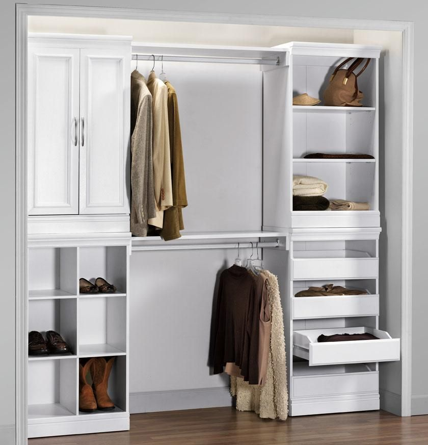 Expand The Function Of Your Custom Closet System By Adding This Home Decorators Collection Manhattan Natural Modular Storage Drawers