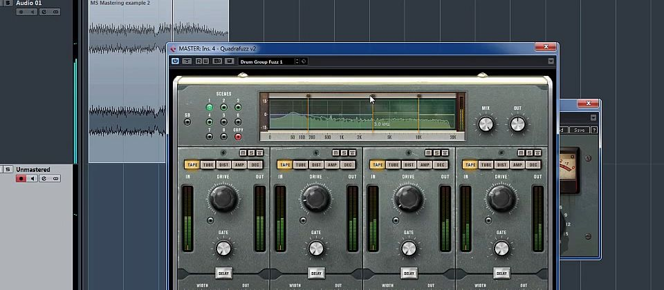 I have a new course how to master a track in cubase