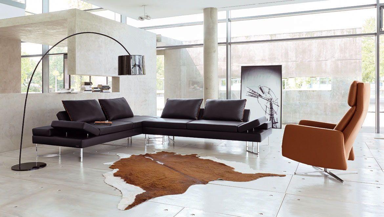 Modern high-quality sofas Frommholz Wohnzimmer Pinterest - designer mobel materialmix