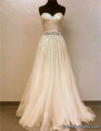 Beige Prom Outfits