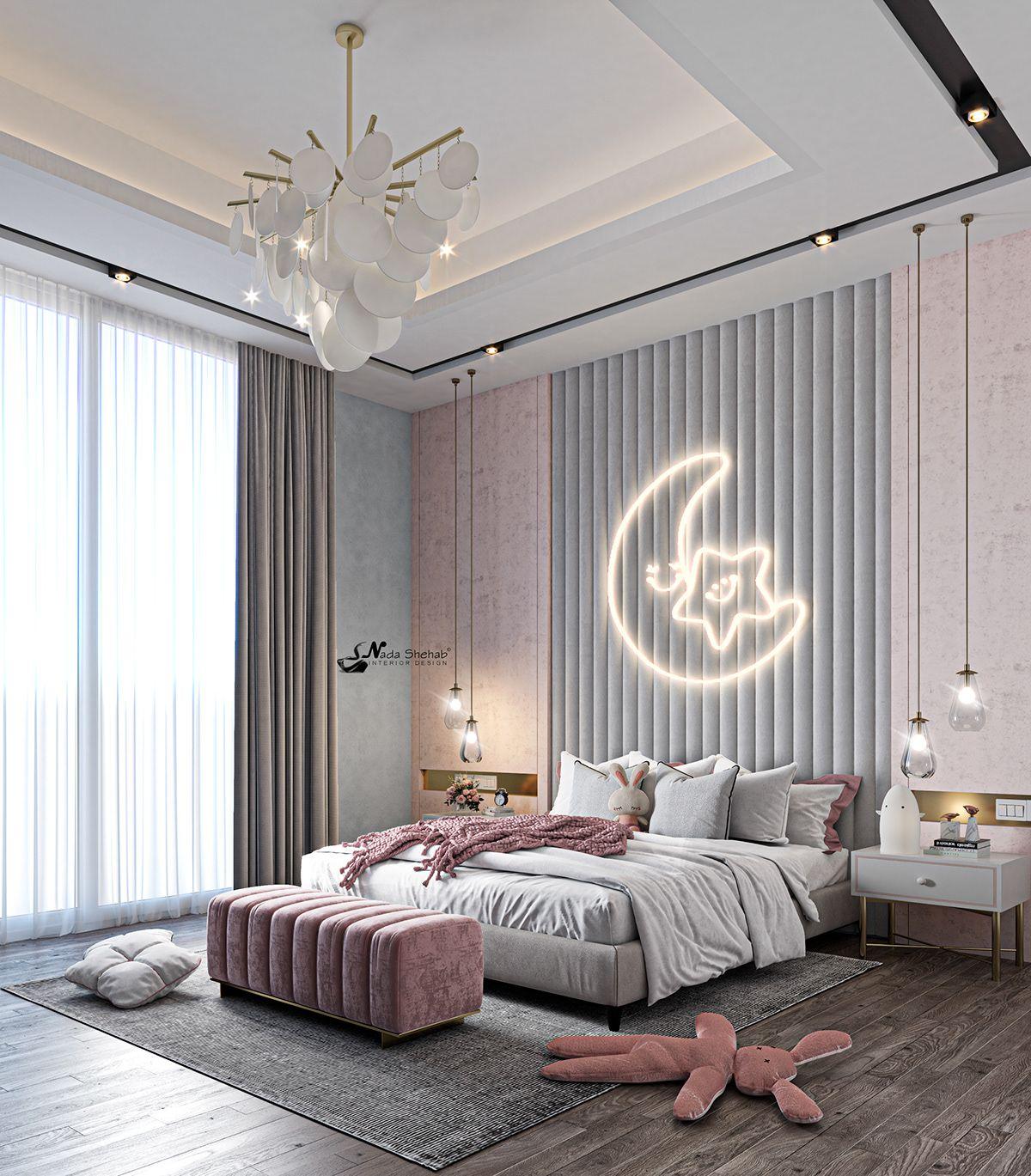 G I R L On Behance Luxury Kids Bedroom Luxury Bedroom Design Room Design Bedroom Teen modern luxury room