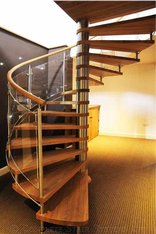 Oak Spiral Staircase Nottingham Was A Project Involving A Large Oak Spiral  As Part Of A Barn Conversion. We Have Received Awards For The Photos