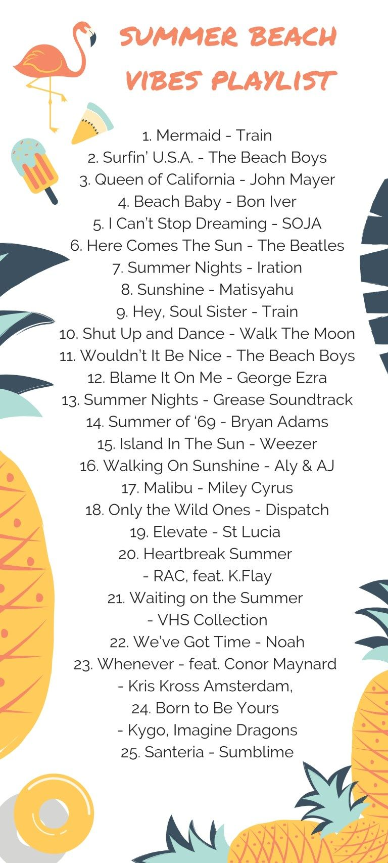 Summer Beach Vibes Playlist and The Perfect End of Summer Picnic ...