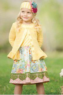 Yellow Erika Dress   263 YLW
