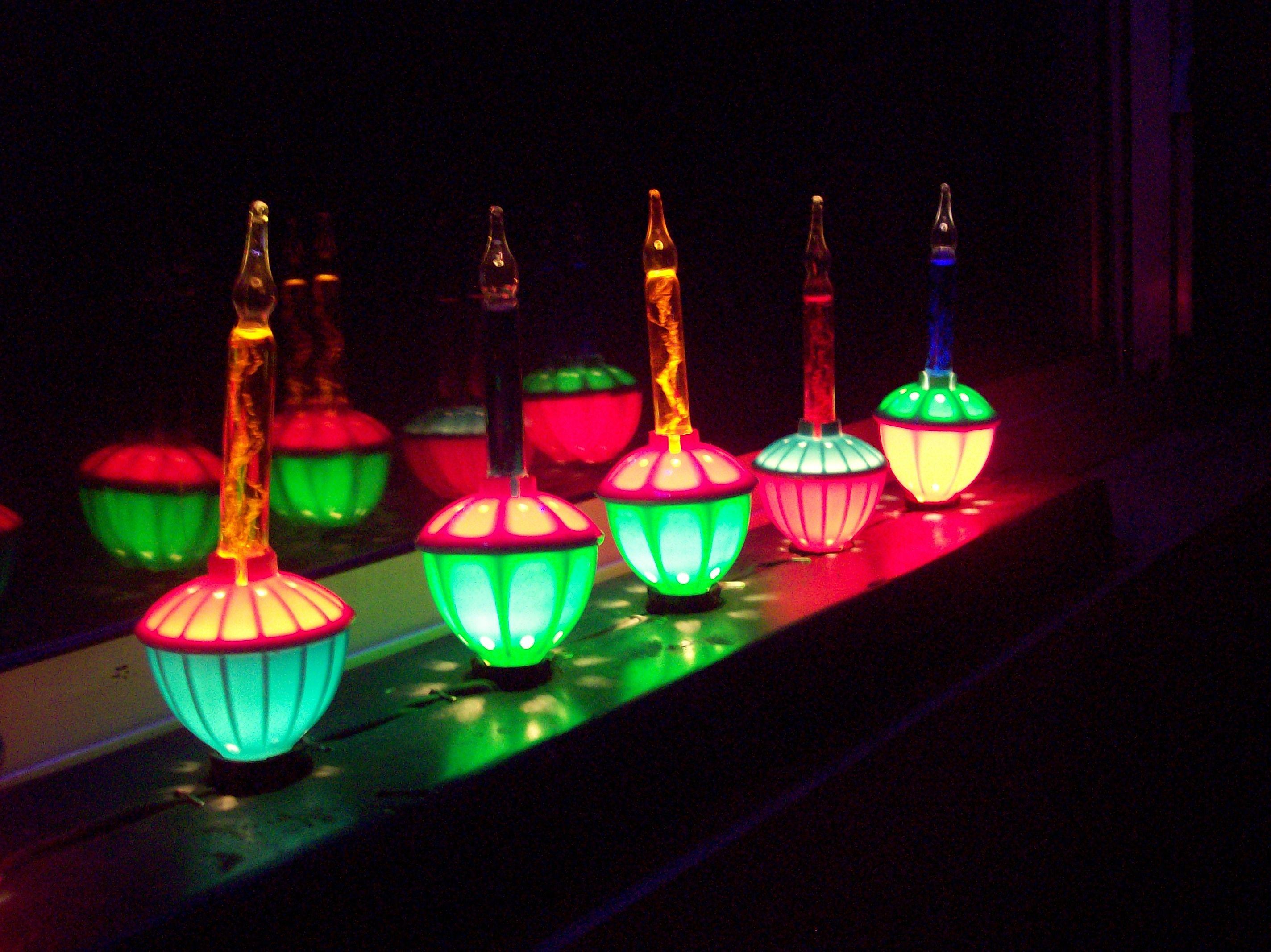 My bubble lights, I just love them!