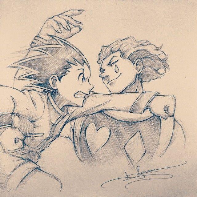 Hunter X Hunter Hisoka And Gon Fighting This Is An Amazing