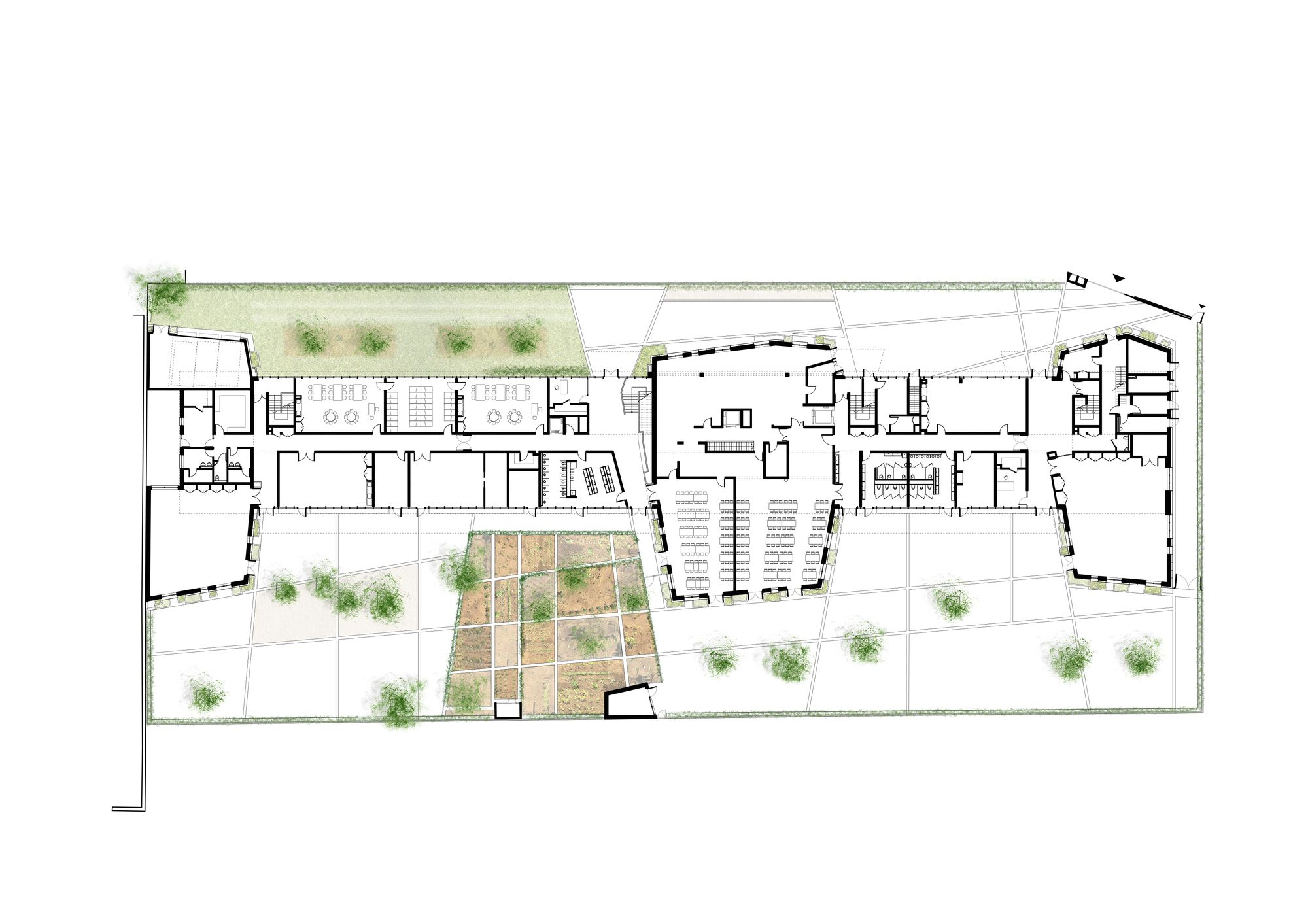 Gallery Of Eco Nursery And Primary School Jean Francois Schmit 8 Primary School Eco Friendly Nursery School Floor Plan