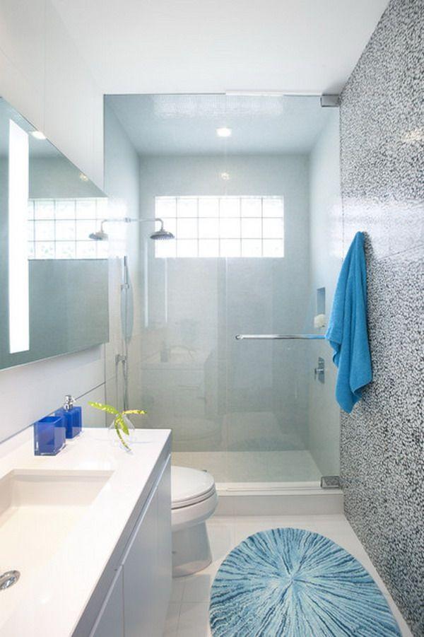 25 Small But Luxury Bathroom Design Ideas  Modern Small Bathroom Fascinating Modern Small Bathroom Decorating Design