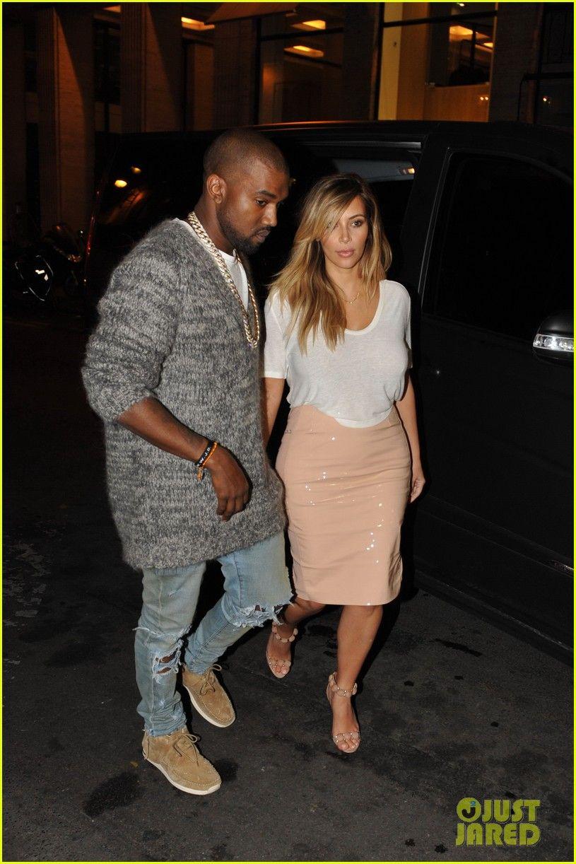 Kanye West Kim Kardashian Before Dating