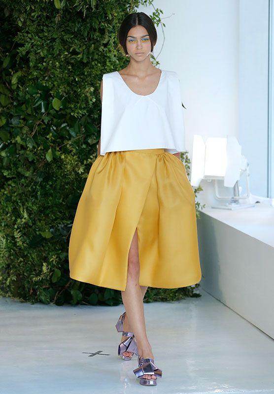 Las faldas amplias y voluminosas están muy 'in' esta primavera (II)