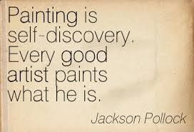 click for artist quotes of Jackson Pollock