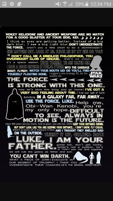 Best Star Wars Quotes Interesting Collection Of Some Of The Best Star Wars Quotes Star Wars