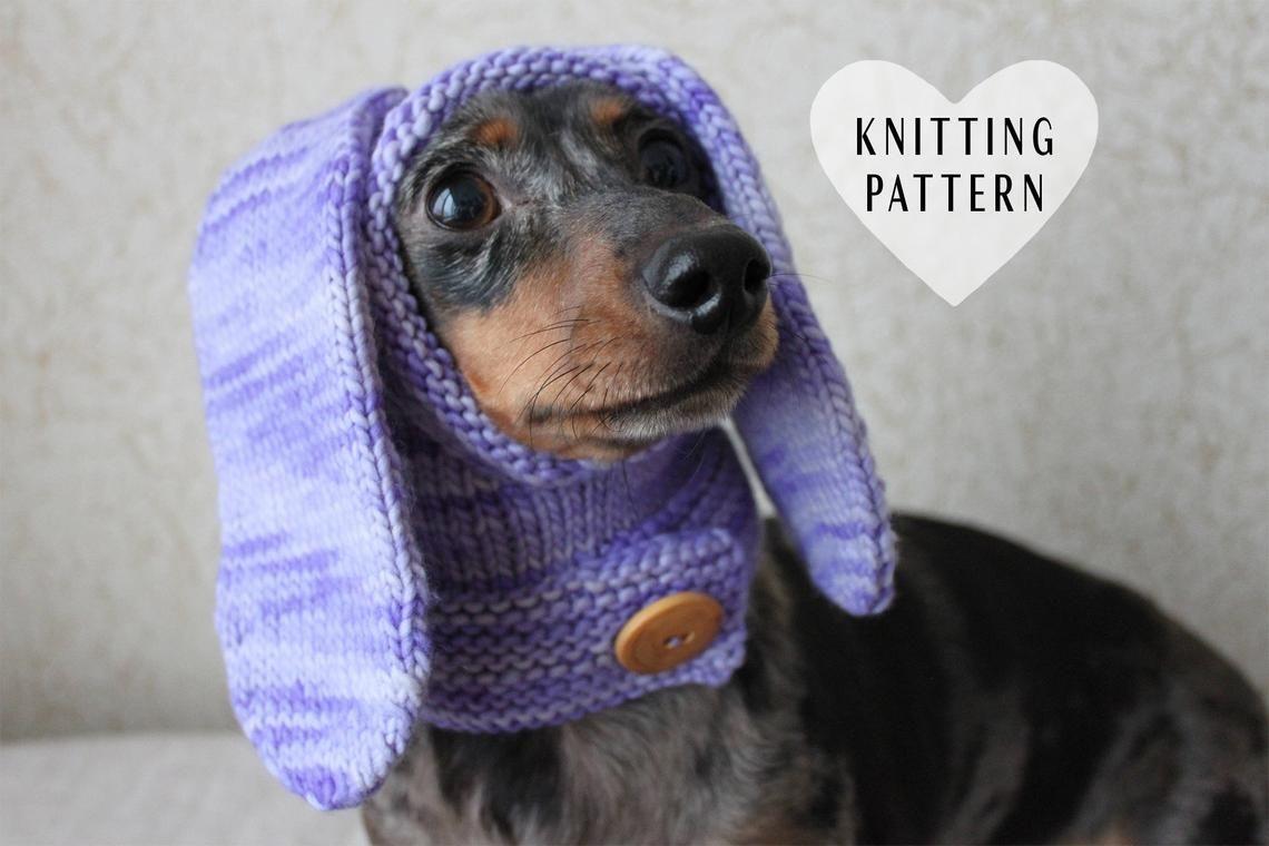 Image 0 Dachshund Hat Dog Sweater Pattern Dog Hat