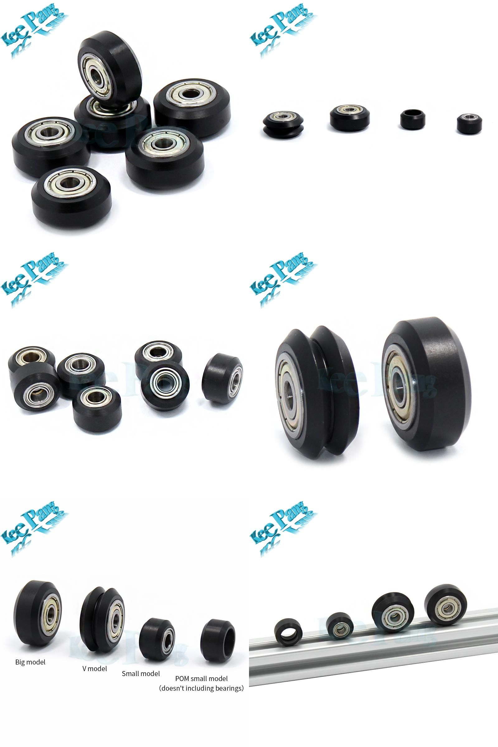 Visit to Buy] POM Plastic Wheel Pulleys Small Big V-slot Models ...