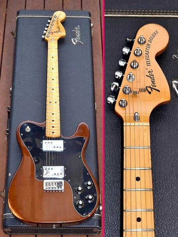 2f09dbb18a1 Fender Tele Deluxe, Telecaster Deluxe, 1976, seventies. Original case