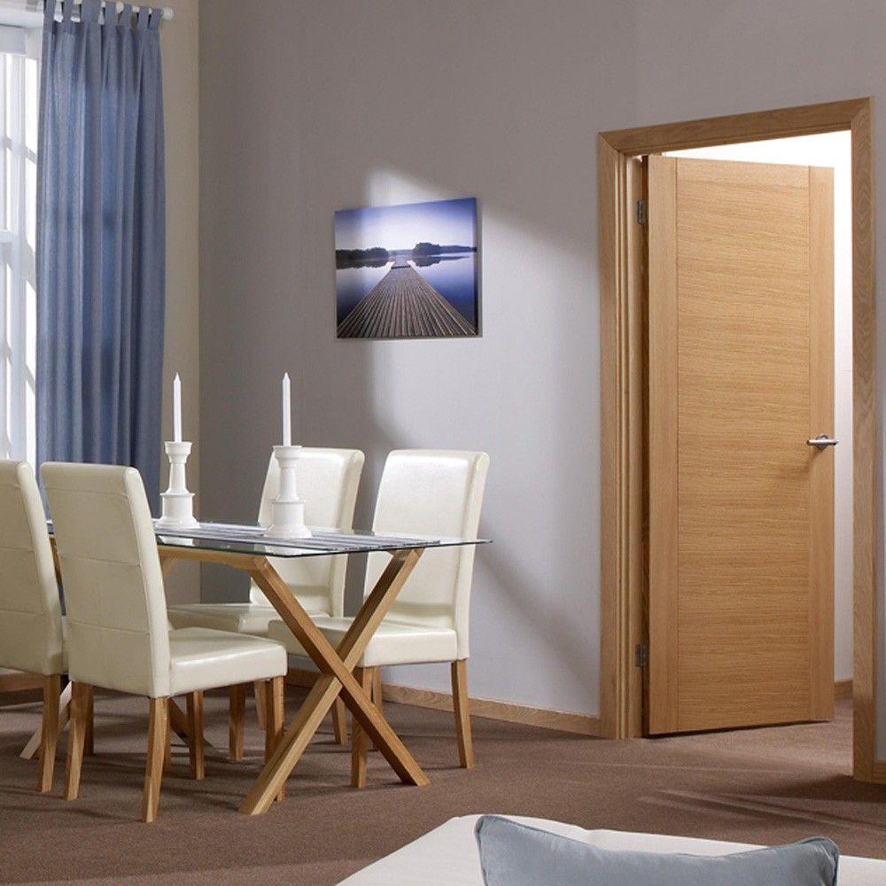 Aragon Oak Internal Prefinished Door Prefinisheddoors Doors
