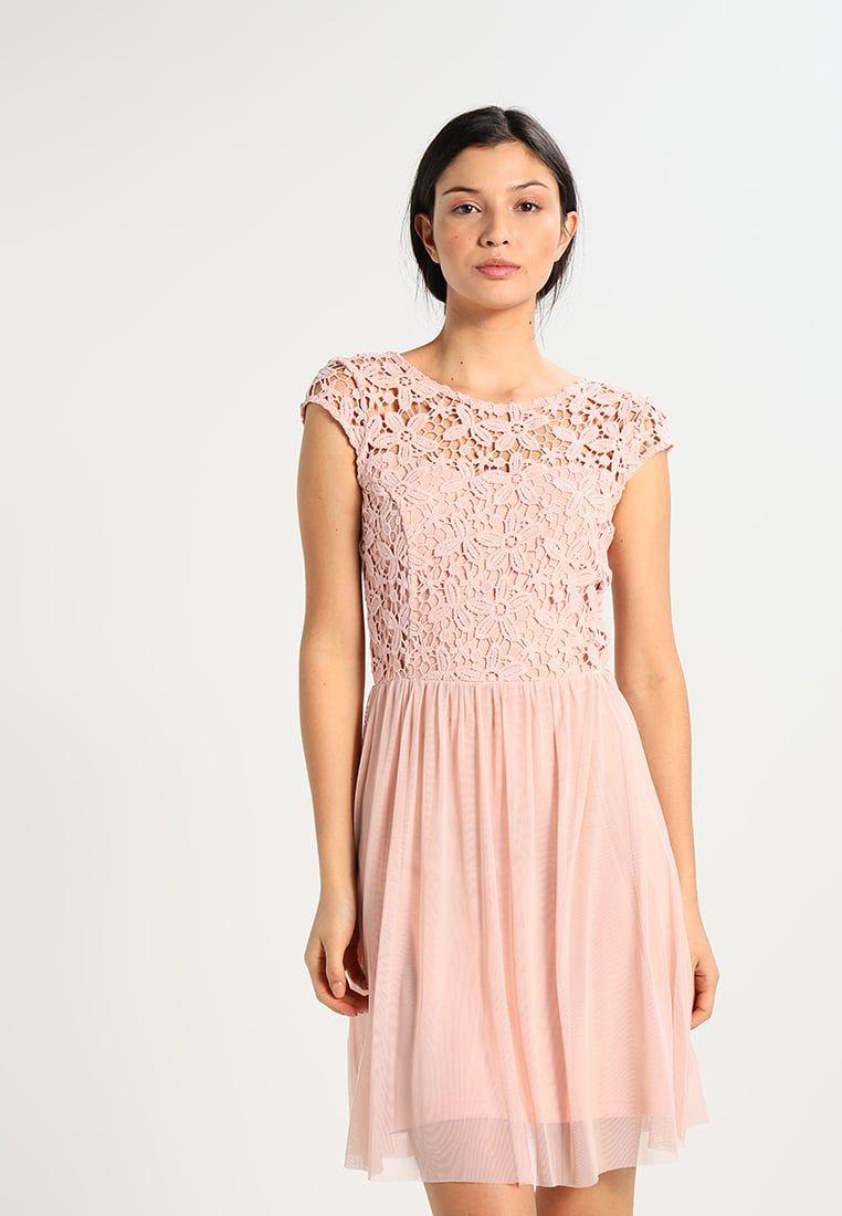 ONLY ONLCROCHETTA - Cocktailkleid/festliches Kleid - rose ...