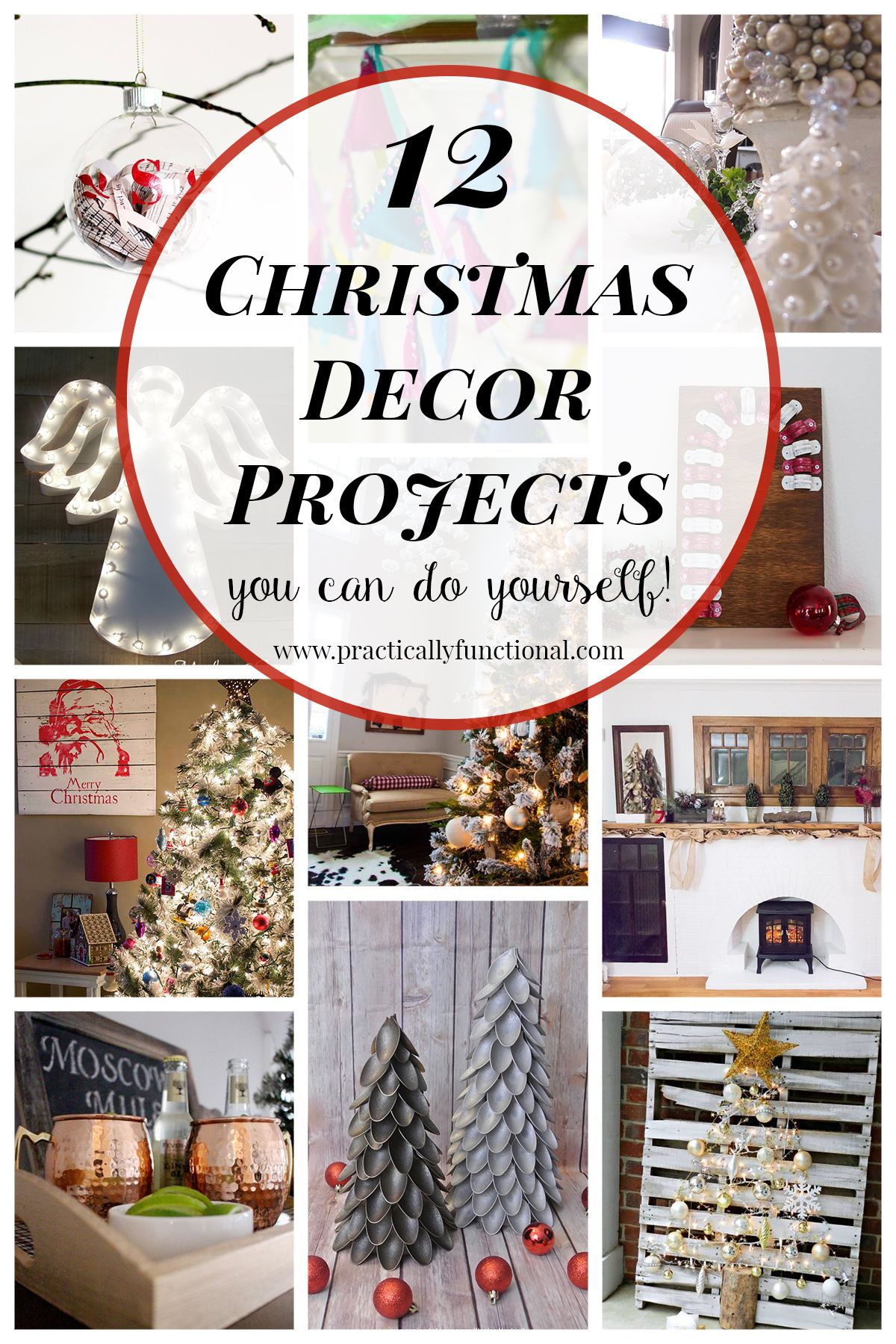 12 diy christmas decor projects christmas decor interior design 12 diy christmas decor projects solutioingenieria Choice Image