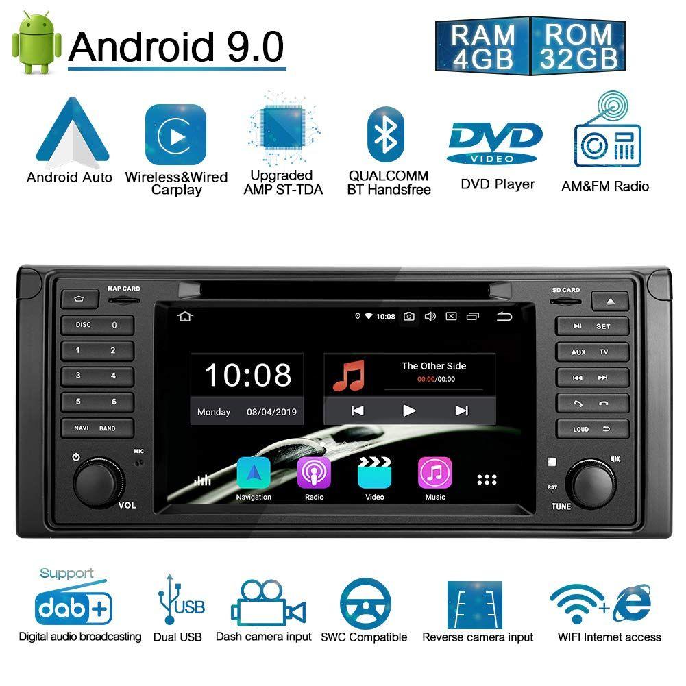 Ohok 7 Zoll Bildschirm 1 Din Autoradio Android 9 0 Pie Octa Core 4g 32g Radio Mit Navi Moniceiver Dvd Gps Navigation Unterstutzt Blueto In 2020 Radio Carplay Car Radio