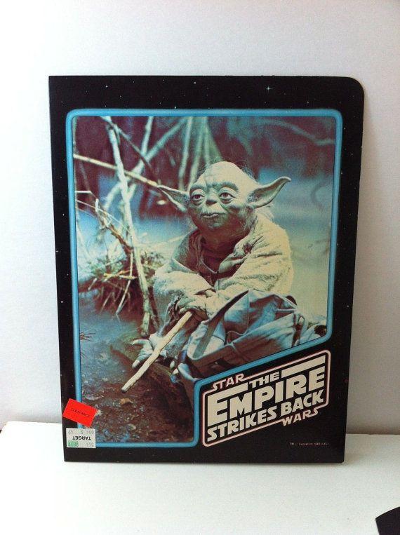 Empire Strikes Back 1980 School Portfolio unused by Csmexartco