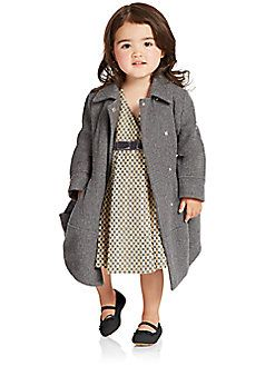 Armani Junior - Toddler's & Little Girl's Wool Dress Coat | For my ...