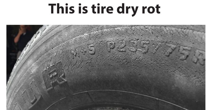 Tire Dry Rot >> What Is Tire Dry Rot Ricks Free Auto Repair Advice