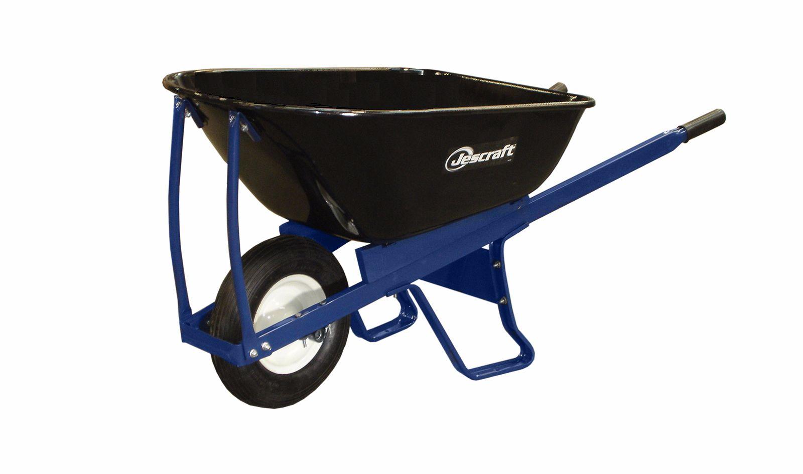 Kit Form Steel Wheelbarrow Single Wheel Jescraft In 2020 Wheelbarrow Steel Handle Steel