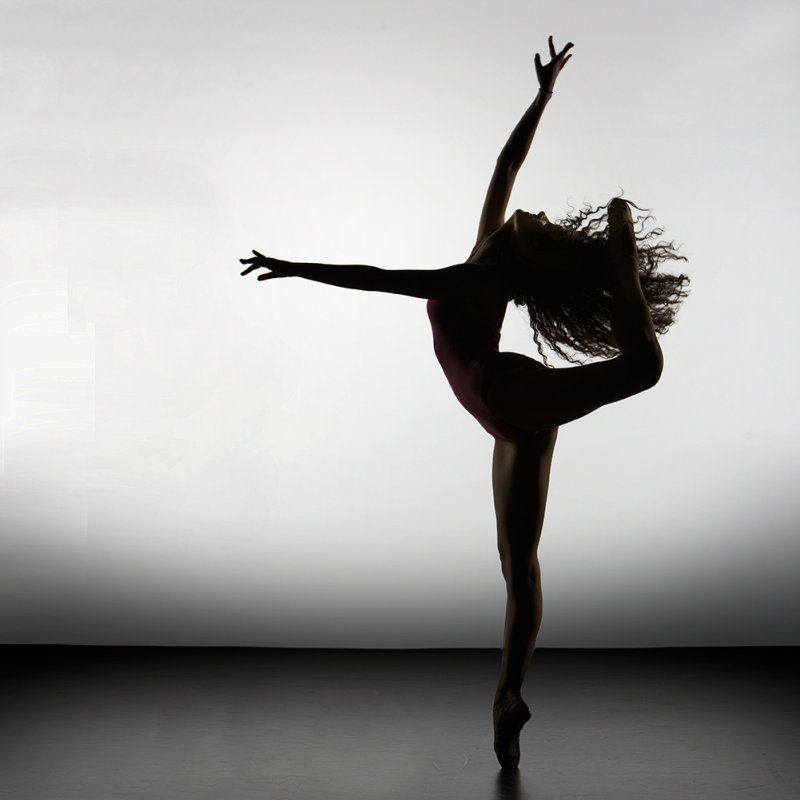 Dance as though no one is watching you...