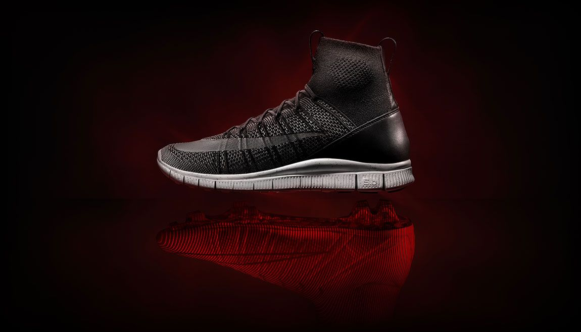 Nike unveils the Nike Free Mercurial Superfly HTM in accordance with their  transition into Nike Lab.