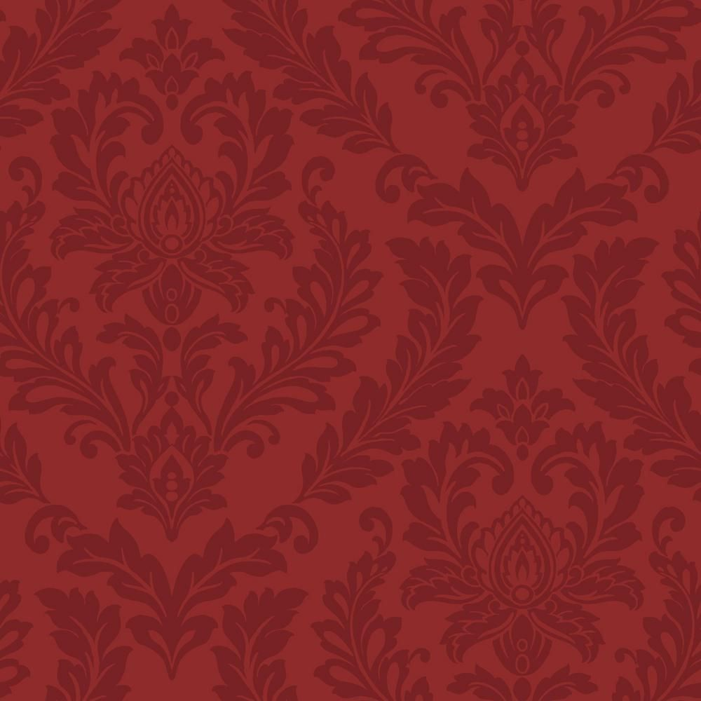 york wallcoverings red damask wallpaper purples interesting finds rh pinterest com