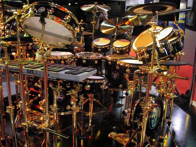 Neil Peart Drum Kit Thread Neil Peart S 30th Anniversary Drum Kit