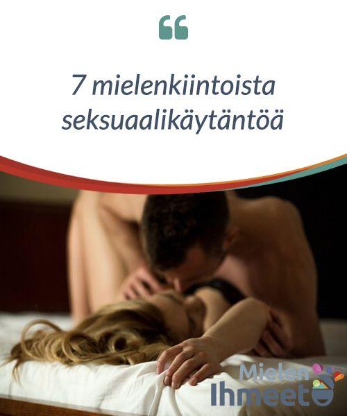 """7 mielenkiintoista seksuaalikäytäntöä.  Vanha #sanonta kuuluu: """"Mauista ja #väreistä ei ole vielä paljon #sanottu"""". Sama pätee myös parafilioihin ja epätavallisiin #seksikäytäntöihin. Ihmisillä voi olla useita seksuaalisia mieltymyksiä, jotka ajoittain voivat lähteä mitä #erikoisimmista #esineistä."""