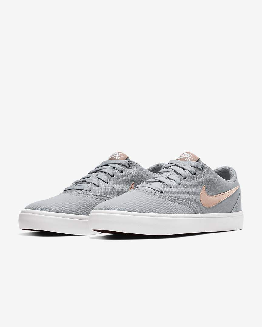 finest selection 47f60 0d362 Nike Women's Skateboarding Shoe SB Check Solarsoft Canvas in 2019 ...