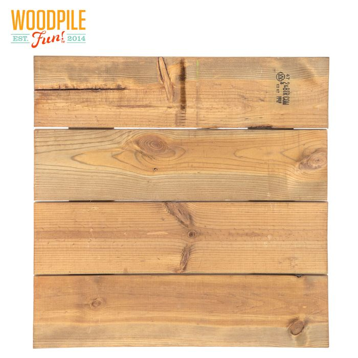 Square Pallet Weathered Wood Wall Decor