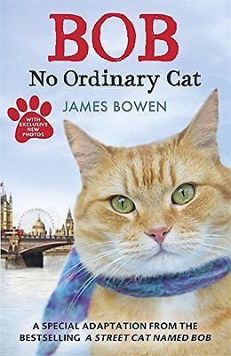Bob no #ordinary cat - pb book - #brand new,  View more on the LINK: http://www.zeppy.io/product/gb/2/282325580325/