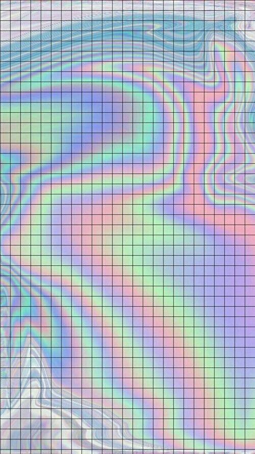 Backround Colors Holographic Wallpaper Texture Tumblr Desain Pamflet Wallpaper Ponsel Papan Warna